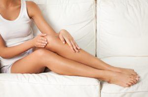 Epilation des jambes et aisselles